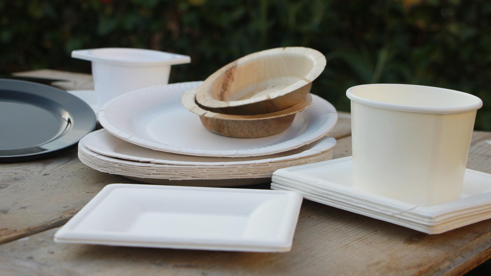 Duurzame borden als alternatief voor plastic borden