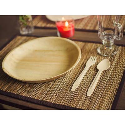 Palmblad borden