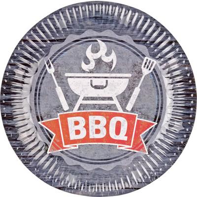 Papieren borden - BBQ