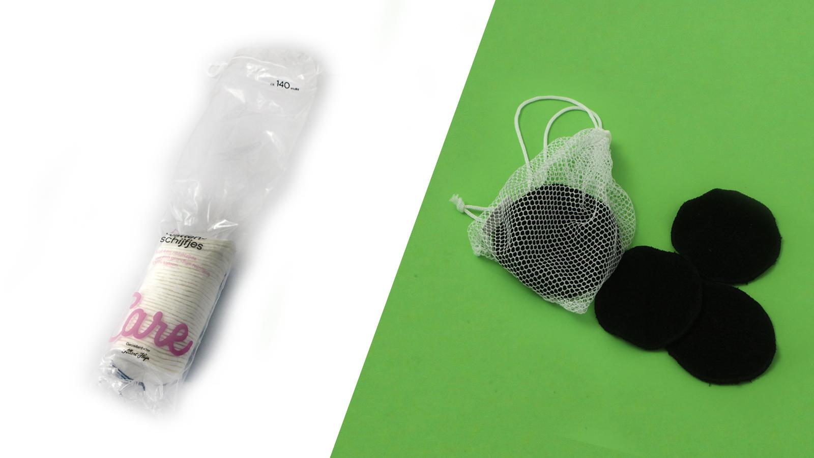 Duurzame wissel: van wegwerp wattenschijfjes naar wasbare wattenschijfjes