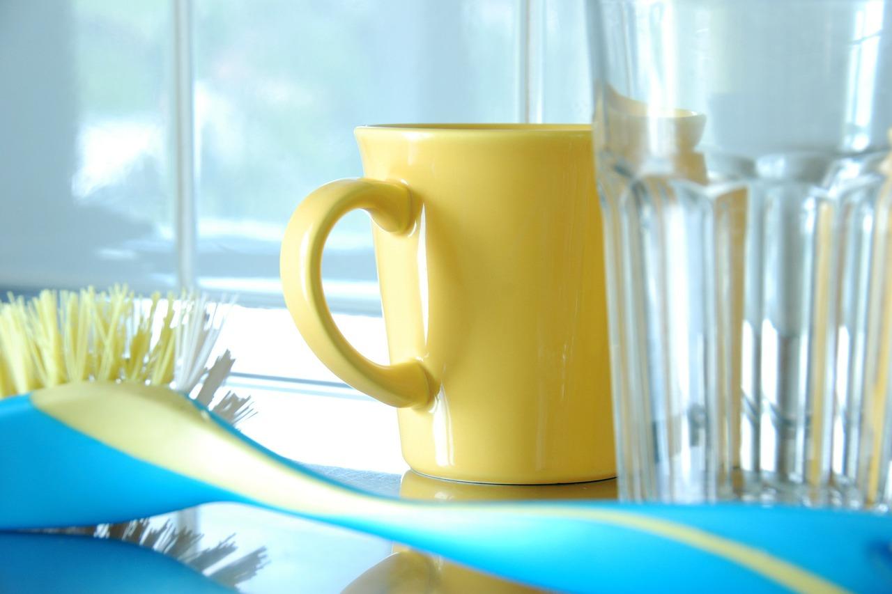 afwasborstel met verwisselbare kop